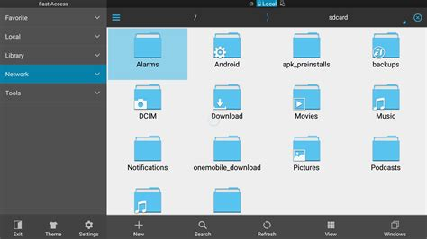 file explorer android how to sideload apps apk files on the nexus player or adt 1