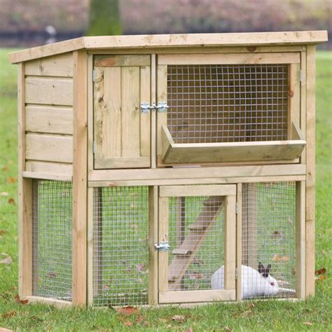 rabbit hutch pattern its a rabbits life do it yourself rabbit hutches