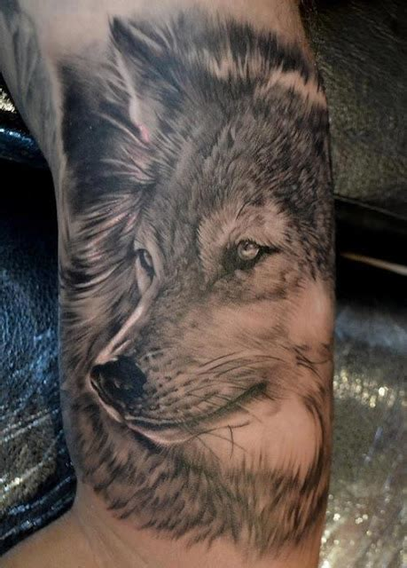 3d wolf design of tattoosdesign of tattoos