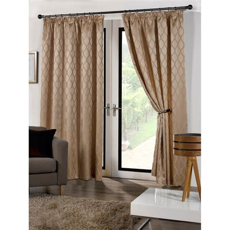 lined drapery cuba ready made fully lined patterned curtains