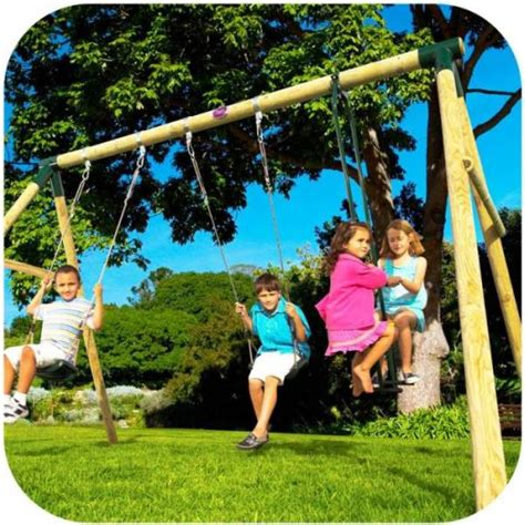 kids glider swing plum 2 swing glider wooden double kids swing set buy