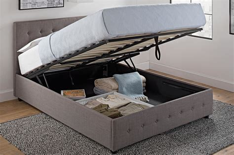 bed with storage space best storage beds apartment therapy