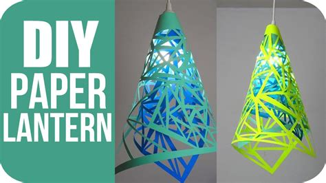 How To Make Paper Hanging Lanterns - diy lanterns how to make hanging paper lanterns