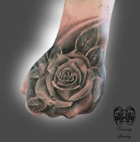 rose on hand tattoo 31 best tattoos images on