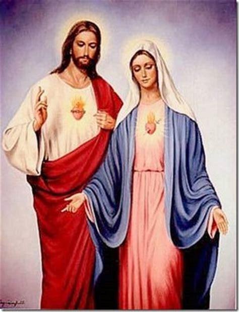 imagenes de jesus y la virgen maria juntos jesus oremosconmaria s blog