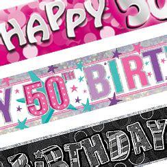 50th Birthday Party Ideas Decorations Party Deko Zum 50 Geburtstag Partycity De