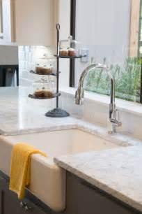 Countertops white subway tile kitchen farmhouse sinks fixer upper