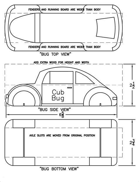 Free Car Templates 21 cool pinewood derby templates free sle exle