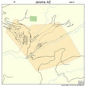 jerome arizona map 0436290