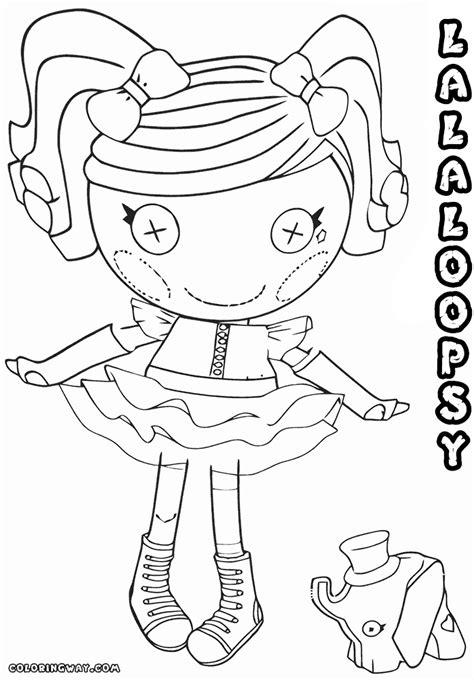 princess lalaloopsy coloring pages lalaloopsy doll coloring pages coloring pages to