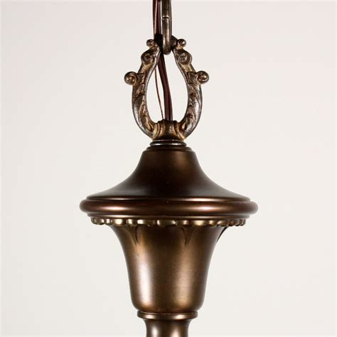 Antique Brass Chandeliers For Sale Wonderful Antique Four Light Brass Chandelier With Original Glass Shades Nc1128 For Sale