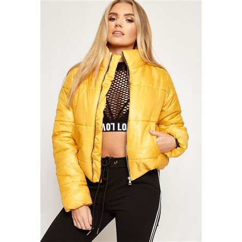 Outer Coat Jaket Wanita Outerwear Bomber Mustard the 25 best mustard puffer jacket ideas on