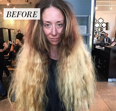 hair makeover videos this extreme hair makeover will make your jaw drop