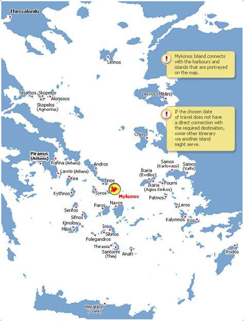 traghetti interni grecia cicladi mykonos navi e traghetti guida turistica musei