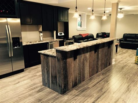 Barnwood Kitchen Island Kitchen Adorable Kitchen Island Breakfast Bar Wood Countertops Reclaimed Kitchens Barnwood