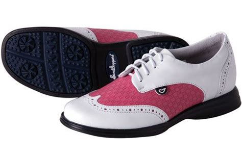 fuchsia hot pink white sandbaggers charlie ladies golf shoes brought