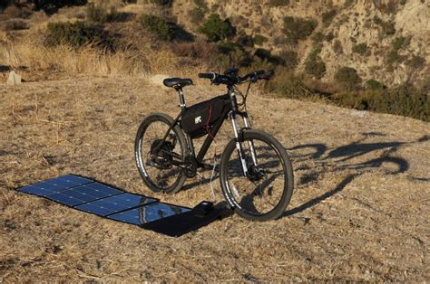 bicycle solar charger electric bike solar charger electric bike report