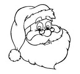 dibujos de navidad pap noel gracioso para colorear dibujo de cara de pap 225 noel para colorear dibujos net