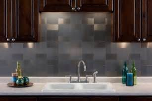 aluminum backsplash kitchen aspect 3 quot x6 quot brushed stainless long grain metal backsplash