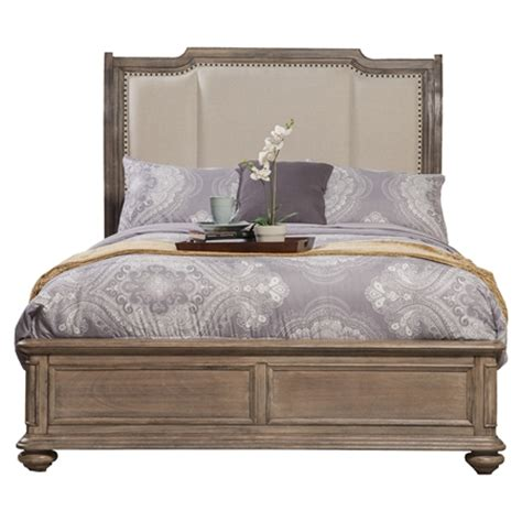 bed headboards melbourne melbourne french truffle bed nailheads upholstered