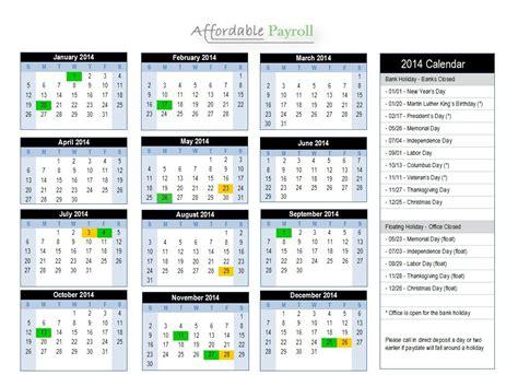 Adp Payroll Calendar Adp 2016 Payroll Calendar