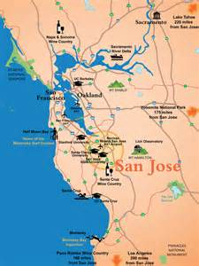 california map san jose san jose ca official website maps