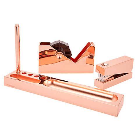 Copper Desk Accessories Buy Tom Dixon Cube Copper Desk Tidy Tray Lewis