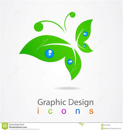 graphic design icons stock vector image of icon design graphic design logo butterfly icon stock vector image