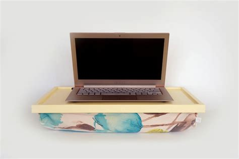 Laptop Lap Desk Or Breakfast Serving Tray Light Yellow Laptop Desk Pillow