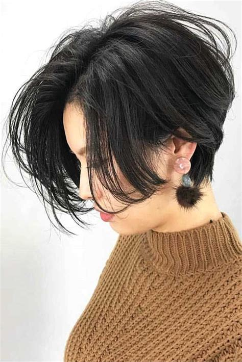 short haircuts  oval faces  put