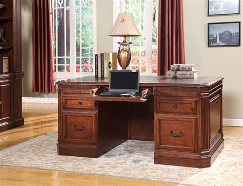 wellington pedestal executive desk from