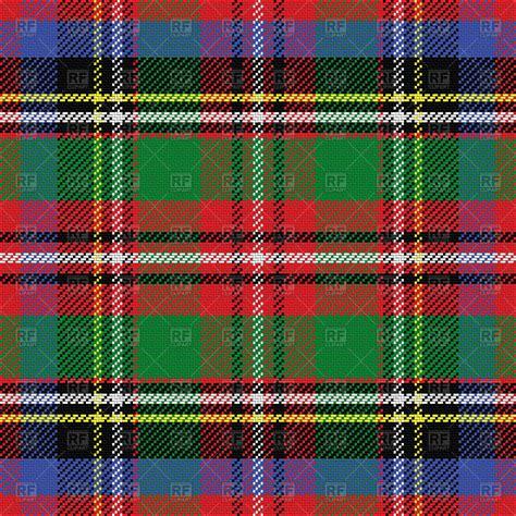 tartan pattern seamless pattern of scottish tartan green blue and