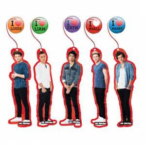 One direction party supplies bookmarks liam louis harry zayn