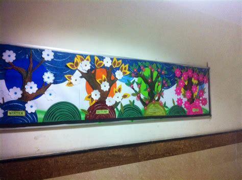 Seasons Board craft ideas and bulletin boards for elementary schools seasons bulletin board