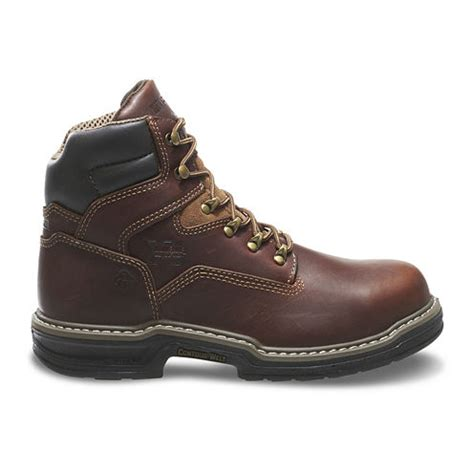 jcpenney work boots wolverine 174 mens 6 quot steel toe contour welt