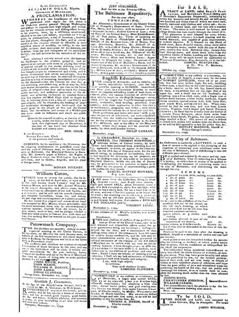 19th Century U S Newspapers 19th Century U S Newspapers