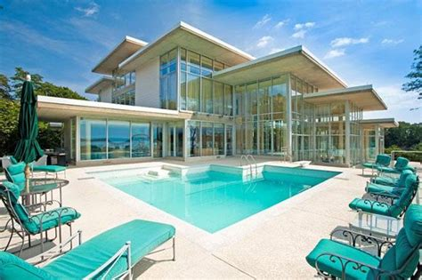 glass house real estate 7 9 million valued chesapeake bay glass house to be auctioned off in may