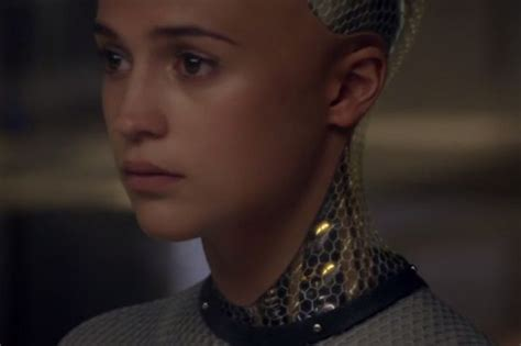 ex machina ava watch ex machina first trailer sci fi thriller starring