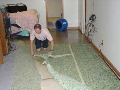 water damage restoration process steps fort wayne in