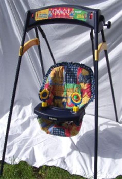 wind up swing vintage graco wind up baby swing 2 speeds seat belt