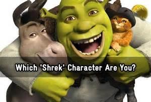 shrek character quiz zimbio