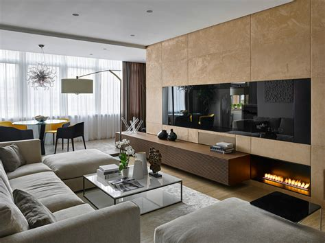 modern apartment design beige adds chic and simplicity to a home s deco decoholic