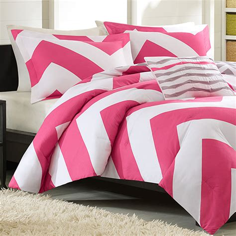 pink bedding set mizone libra twin xl comforter set pink free shipping