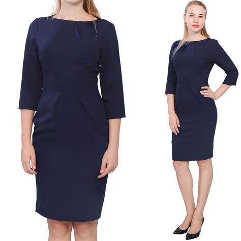Fashion Find Work To Play Dress by Knee Length Dress With Sleeves Www Pixshark