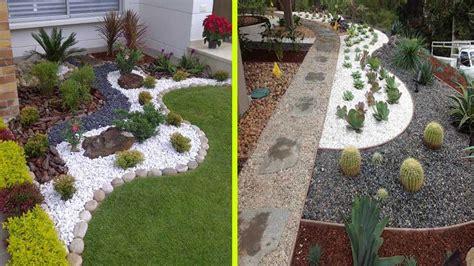 rock garden decoration ideas cool white gravel decoration ideas and rock garden