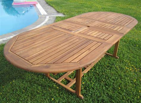 Gartenmöbel Runder Tisch by Gartentisch Esstisch Ausziehbar Holztisch Gartenm 195 194 182 Bel
