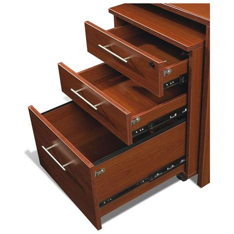 filing cabinet desk combo pro x executive desk with mobile file cabinet dcg stores