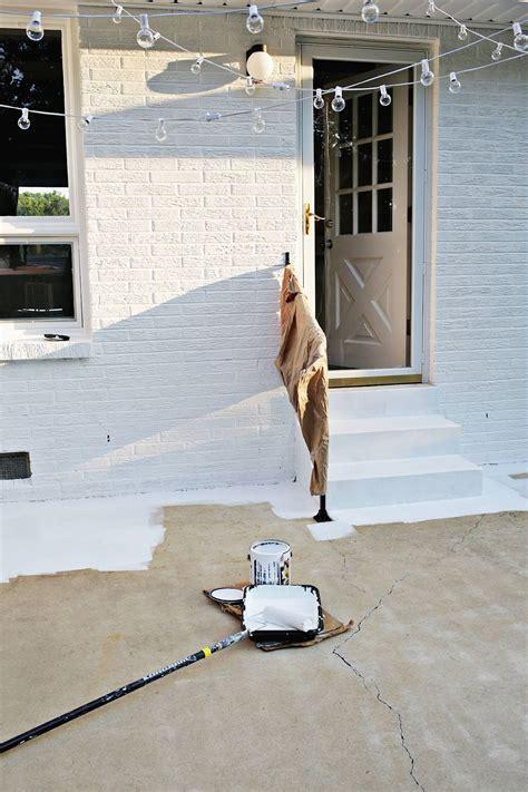 patio interior en un piso renovar los pisos de un patio con pintura estilos deco