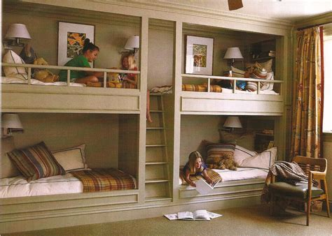 Built In Bunk Beds Built In Beds On Modern Bunk Beds Bunk Bed And Loft Bed