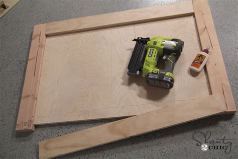 how to build a headboard and footboard amazing diy bed shanty 2 chic